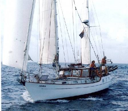 Sailing Yacht For Sale Victory 40 Ketch